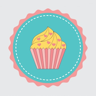 Naklejka na ciasto