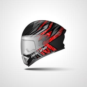 Naklejka na kask racing sport i naklejki winylowe do samochodów sportowych i motocykli.
