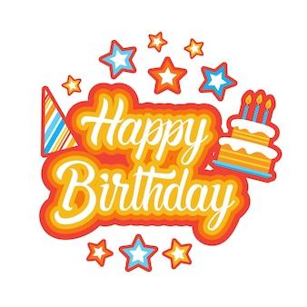 Naklejka z okazji urodzin