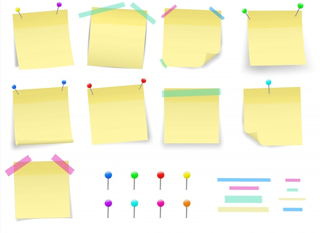 Naklejkę samoprzylepną na papierowy post. klejowa taśma klejąca.