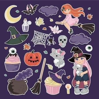 Naklejki halloween collection