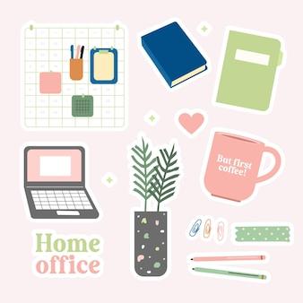 Naklejki home office