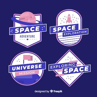 Naklejki na elementy kosmiczne