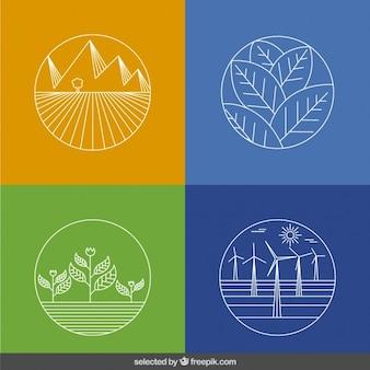 Nakreślone ekologii kolekcji