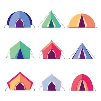 Namioty z ikonami