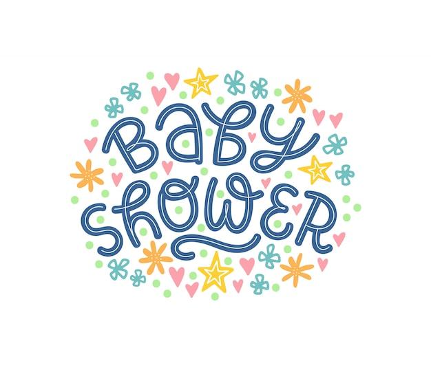 Napis baby shower