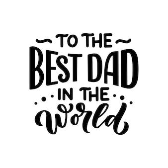 Napis na dzień ojca