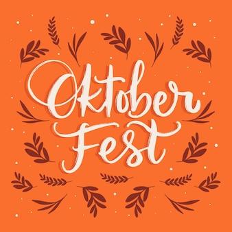 Napis na festiwalu oktoberfest