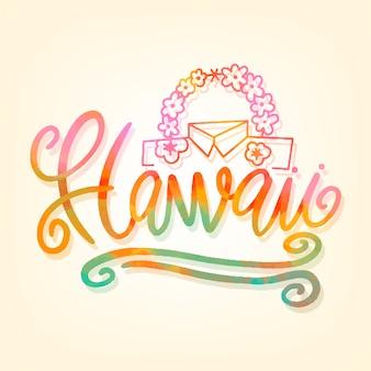 Napis na hawajach