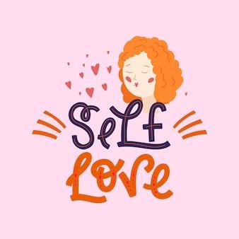 Napis na miłość własną