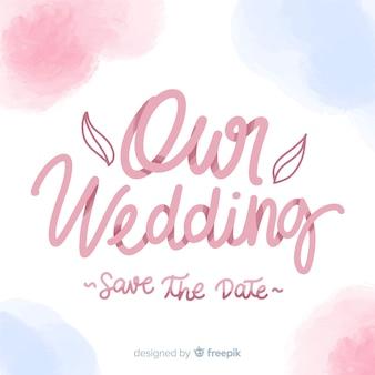 Napis na ślub