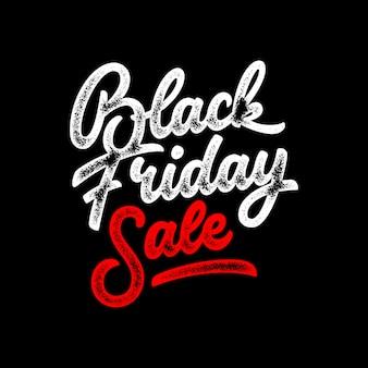 Napis na sprzedaż w czarny piątek