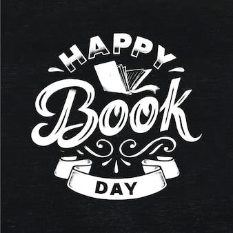 Napis na światowy dzień książki