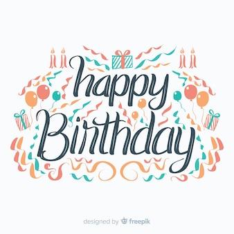 Napis na urodziny
