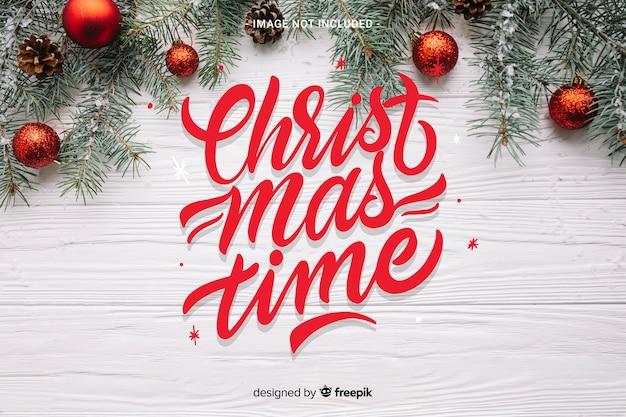 Napis świąteczny