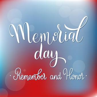 Napis z okazji dnia pamięci. pamiętaj i czcij. elementy na zaproszenia, plakaty, kartki z życzeniami