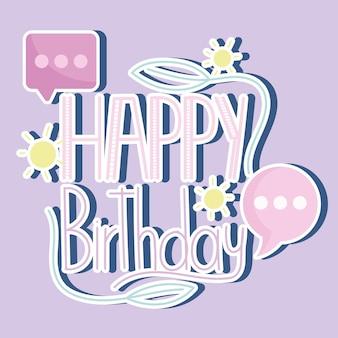 Napis z okazji urodzin