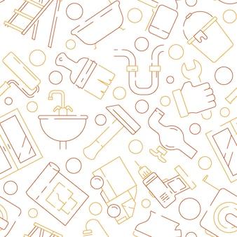 Napraw wzór urządzenia. wspierać elementy serwisowe narzędzia budowlane młot udarowo-obrotowy