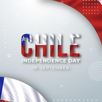 Narodowy dzień chile memphis design