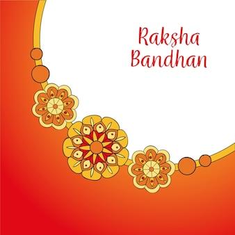 Narysowany bandhan rakshy