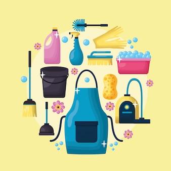 Narzędzia do czyszczenia wiosennego