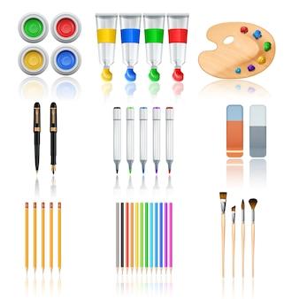 Narzędzia do rysowania i malowania