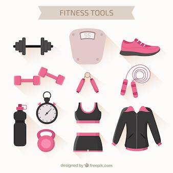 Narzędzia fitness pack