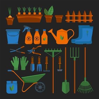 Narzędzia ogrodnicze sprzęt do pielęgnacji ogrodu