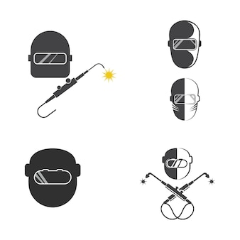 Narzędzie spawalnicze wektor ikona ilustracja szablon