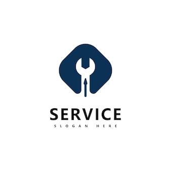 Narzędzie wektor logo ikona ilustracja projektu