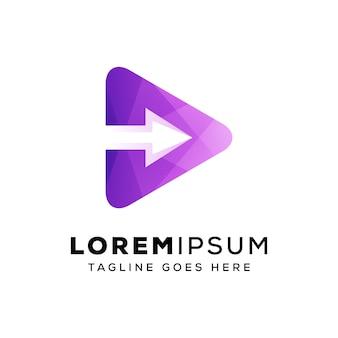 Następny szablon logo mediów