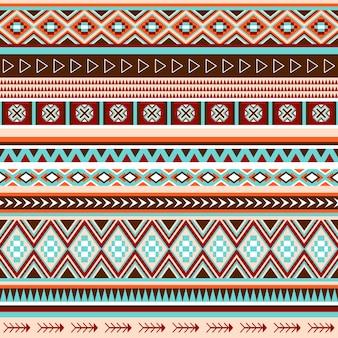 Native american plemiennych wzór.