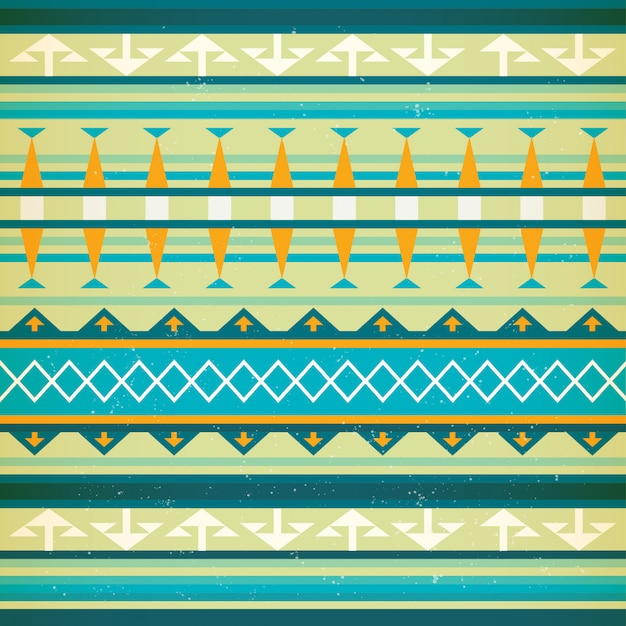 Native american wektor wzór.