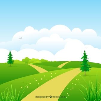 Naturalne łąki