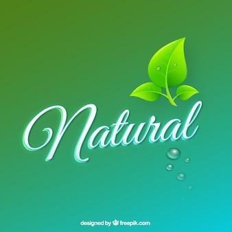 Naturalne tło