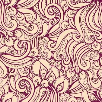 Naturalny fioletowy abstrakcyjny wzór