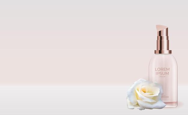 Naturalny kosmetyk 3d realistic