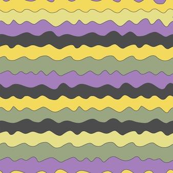 Naturalny wzór abstrakcyjne linie poziome kolorowe tło rysunek odręczny