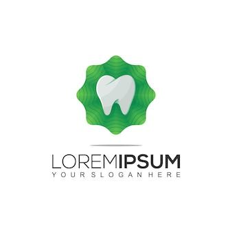 Naturalny wzór logo dental
