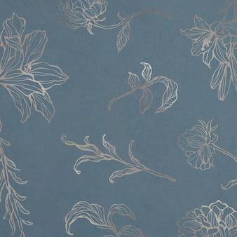 Naturalny wzór złotych liści