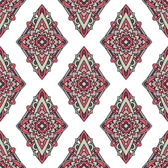Natywny wzór plemienny, styl konturu