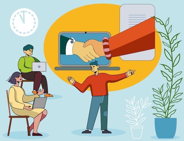 Nauczanie trenerów dokonywanie udanej transakcji biznesowej