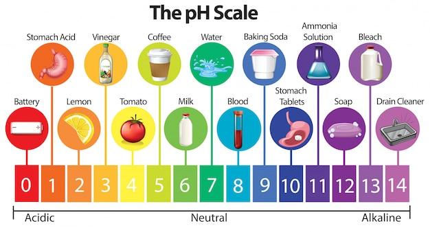 Naukowa skala ph