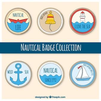 Nautical odznaki, wyciągnąć rękę
