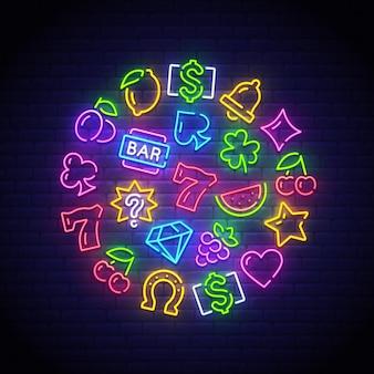 Neon automatu do gry