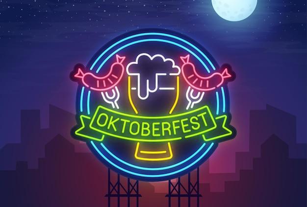 Neon oktoberfest
