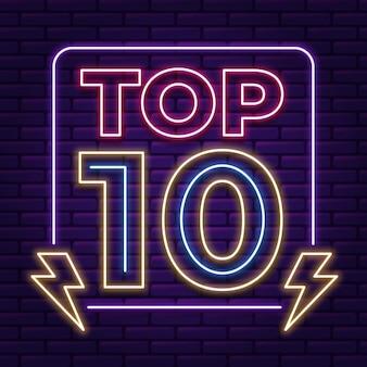 Neon top 10 szablonów