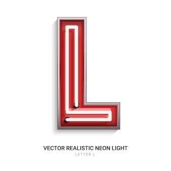 Neonowa litera l.