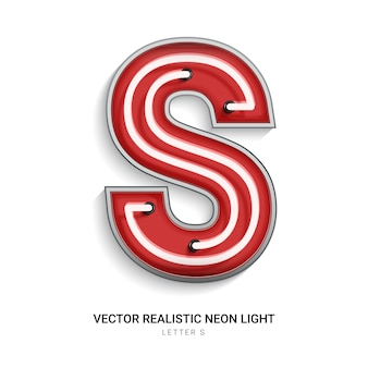 Neonowa litera s
