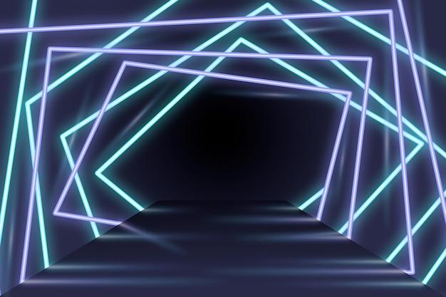 Neonowe tło